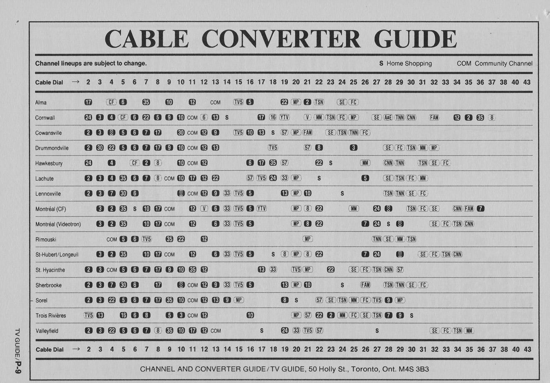 eastlink digital cable tv guide